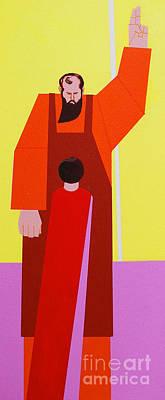 Painting - The Teacher by Art Mantia