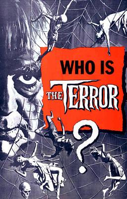 The Terror, Boris Karloff On 1 Sheet Art Print by Everett
