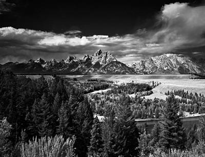 Photograph - The Tetons by Larry Carr