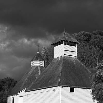 Photograph - The Text Kiln Monochrome by Odille Esmonde-Morgan