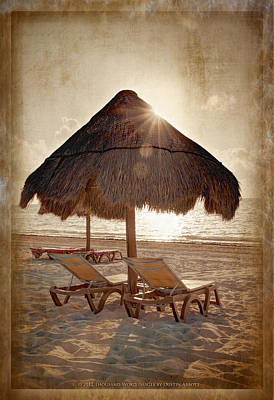 The Texture Of Paradise Art Print