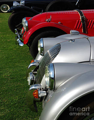 Classic Car Photograph - The Three Brit's by Peter Piatt