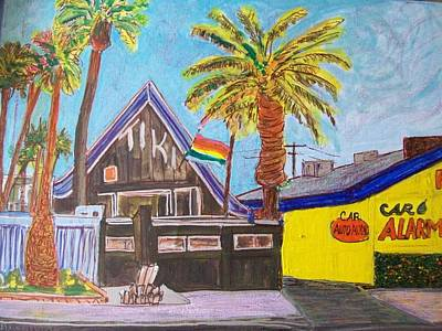 Modesto Painting - The Tiki  by James Christiansen