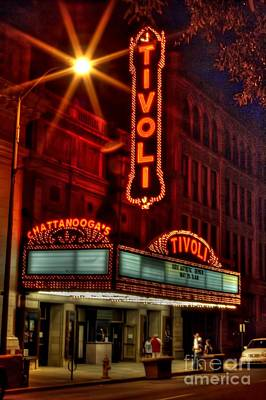 Corky Willis And Associates Atlanta Photograph - The Tivoli Theater Chattanooga Tennessee by Corky Willis Atlanta Photography