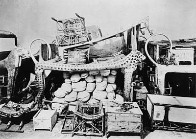 King Tut Photograph - The Tomb Of King Tutankhamen Contained by Everett