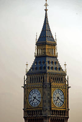 Photograph - The Tower At Westminster by Harvey Barrison