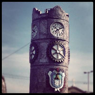 Gears Wall Art - Photograph - The Tower by Jamie Stone