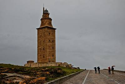 Photograph - The Tower Of Hercules by Eric Tressler