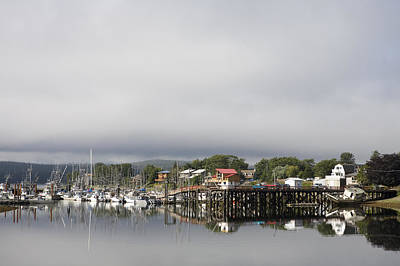 Haida Gwaii Photograph - The Town Of Massett In The Early by Taylor S. Kennedy