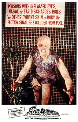The Toxic Avenger, Mitch Cohen, 1985 Art Print by Everett