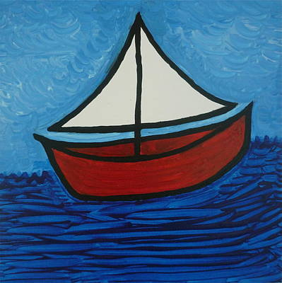 Painting - The Toy Boat by Gregory Young