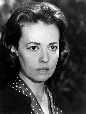 1964 Movies Photograph - The Train, Jeanne Moreau, 1964 by Everett