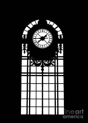 Photograph - The Train Station Window by Anne Raczkowski