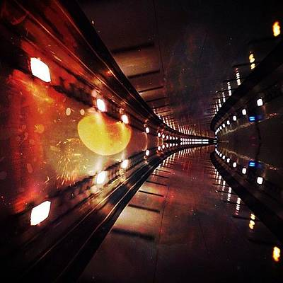 Sciencefiction Wall Art - Photograph - The Transparency Of The Solar Panels by Aubrey Erickson