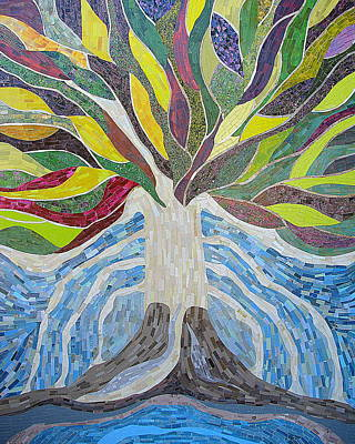 The Tree Of Life Print by Claudia French