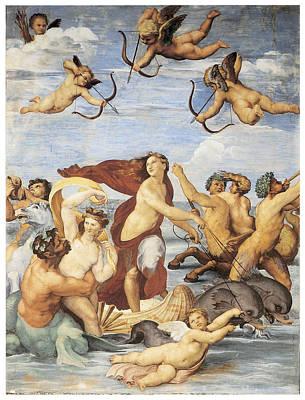 The Triumph Of Galatea Art Print
