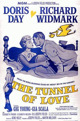 The Tunnel Of Love, Gia Scala, Doris Art Print by Everett