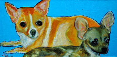 Painting - The Two Amigo's by Laura  Grisham