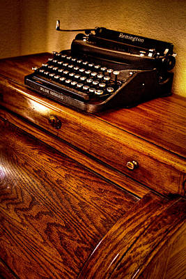 Remington Photograph - The Typewriter by David Patterson