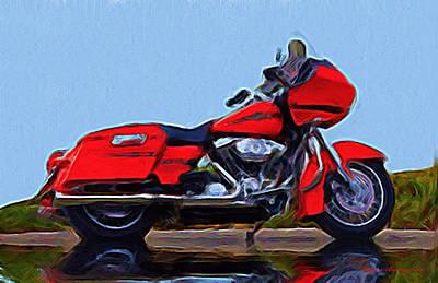 Harley Davidson Art Painting - The Ultimate by Wayne Bonney
