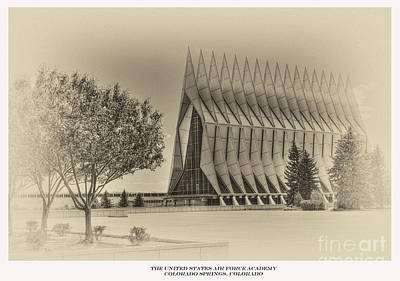 Photograph - The United States Air Force Academy Chapel by David Bearden