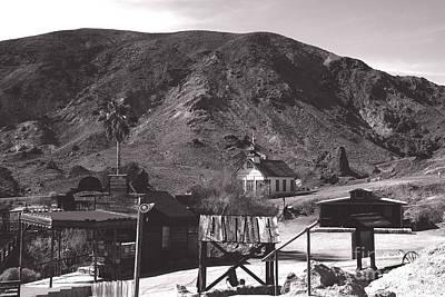 Door Locks And Handles - The Upper Village of Calico Ghost Town by Susanne Van Hulst