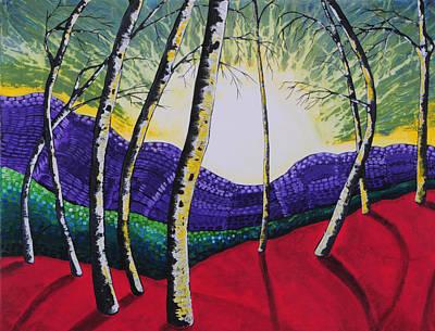 The Valley Art Print by Kris LeBlanc