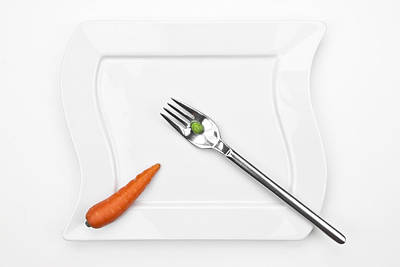 Tableware Photograph - The Vegetables by Joana Kruse