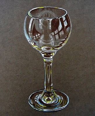 Stemware Painting - The Vessel by Dorothy Nalls