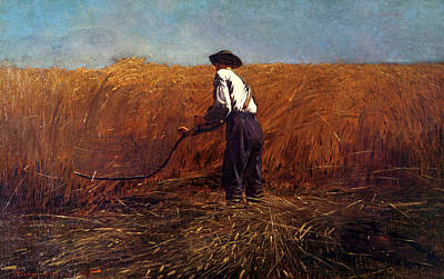 Clearing Painting - The Veteran In A New Field by Winslow Homer