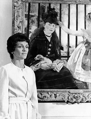 The Vice Presidents Wife, Joan Mondale Art Print
