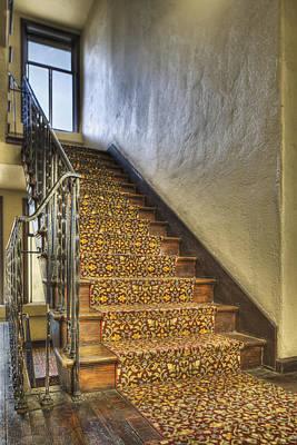 The Villa Rosa Apartments Building Art Print by Dan Kaufman