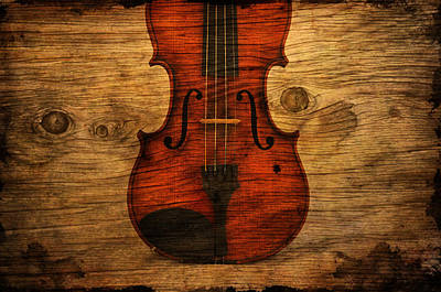 Violin Digital Art - The Violin by Emily Stauring