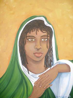 The Virgin Mary Art Print by Mccormick  Arts