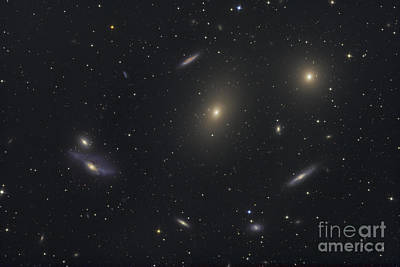 Virgo Photograph - The Virgo Galaxy Cluster Known by Roth Ritter