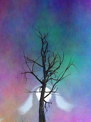 Fog Mist Digital Art - The Visiting by Tim Allen