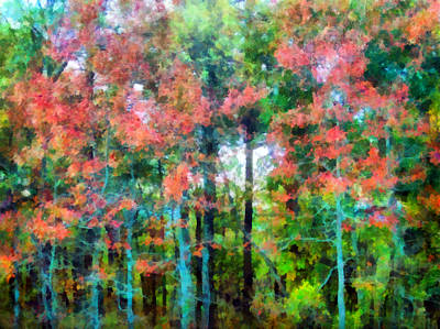 Fall Foliage Mixed Media - The Voice Of Autumn by Angelina Vick