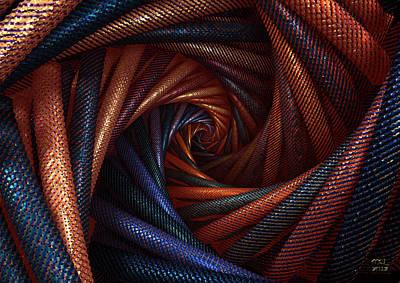 The Vortex Art Print by Manny Lorenzo
