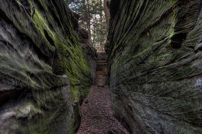 The Walls Are Closing In Art Print by At Lands End Photography