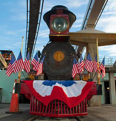 Walt Disney World Photograph - The Walter E Disney Patriot Express by Drew Green