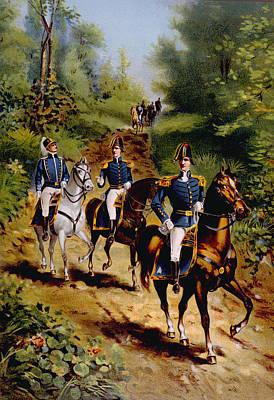 The War Of 1812, U.s. General Staff Art Print by Everett