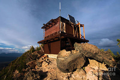 Photograph - The Watchman Tower by Adam Jewell
