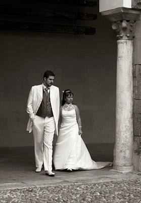 Photograph - The Wedding Couple by Lorraine Devon Wilke
