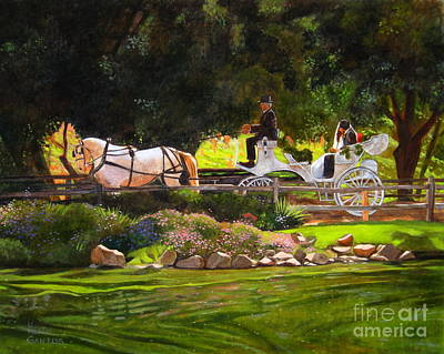 Painting - The Wedding by Keith Gantos