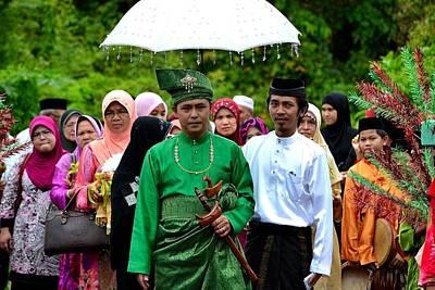 Photograph - The Wedding by Ku Azhar Ku Saud