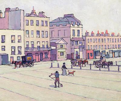 The Weigh House - Cumberland Market Art Print by Robert Polhill Bevan