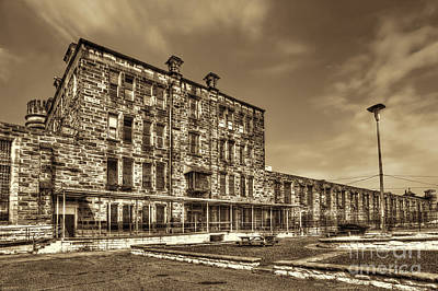 Photograph - The West Virginia State Penitentiary Backside by Dan Friend