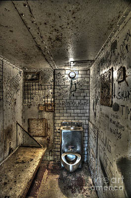 Photograph - The West Virginia State Penitentiary Cell by Dan Friend