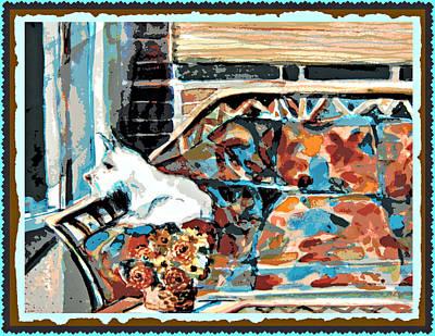 Westie Puppy Digital Art - The Westie Watch by Mindy Newman