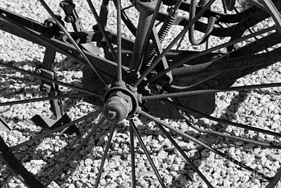 Photograph - The Wheel by Pamela Walrath